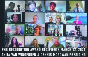 Recognition Award for ICGMC Project Healthy Bones